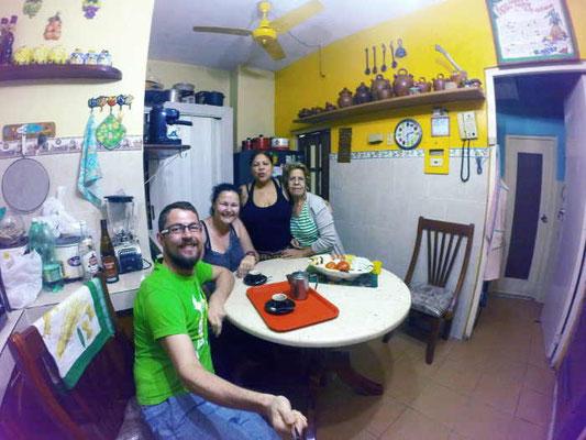Essen bei Locals in Havanna Kuba