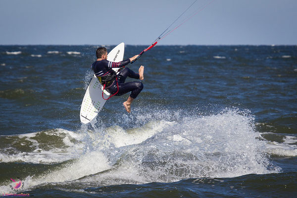 Kitesurfen lernen auf Usedom