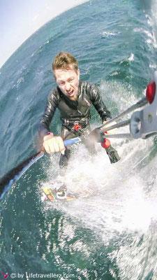 Lifetravellerz, Kitesurfen, Über uns