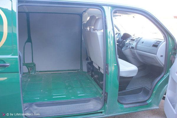 VW T5 Transporter seitliche Schiebetür