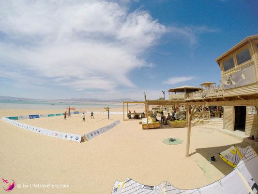Kitesurfen lernen in Ägypten - Soma Bay