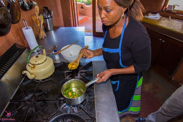 Essen in Südafrika - Morroch