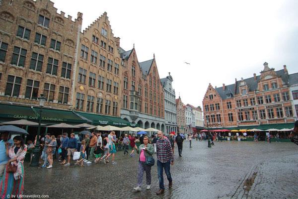 Das Stadtzentrum von Brügge
