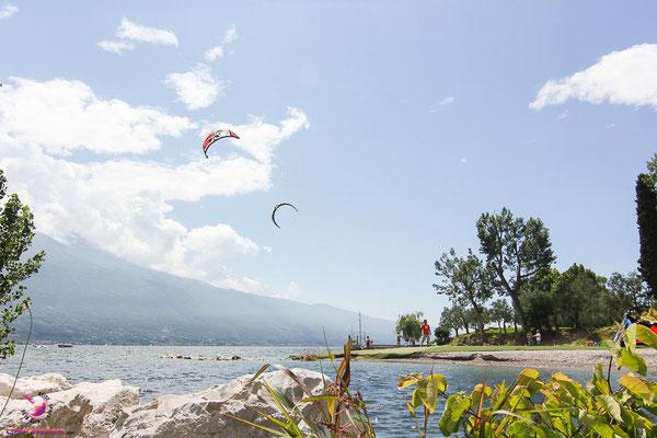 Kitesurfen lernen am Gardasee