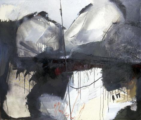 Ohne Titel, 1998, Öl auf Leinwand, 120x140, Land Sachsen-Anhalt