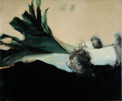 Lauch, 1979, Öl auf Leinwand, 30x35, Privatbesitz