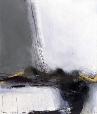 Stillleben mit Nestern, 1987, Öl auf Leinwand, 140x120, Privatbesitz