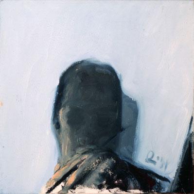 Studie, 1990, Öl auf Leinwand, 30x30