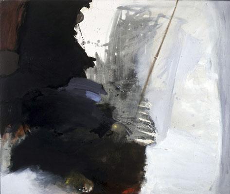 Ohne Titel, 1989, Öl auf Leinwand, 120x140, Privatbesitz