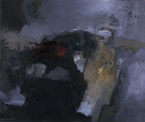 Landschaft, 1978, Öl auf Leinwand, 120x140, Privatbesitz