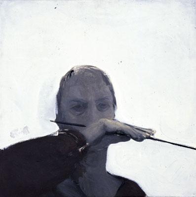 Studie, 1986, Öl auf Leinwand, 60x60