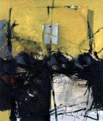 Ohne Titel, 1994, Öl auf Leinwand, 120x140, Privatbesitz