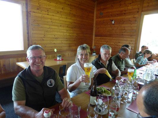 2015 - Mittagessen GIW - 500 m TKJ Prüfung