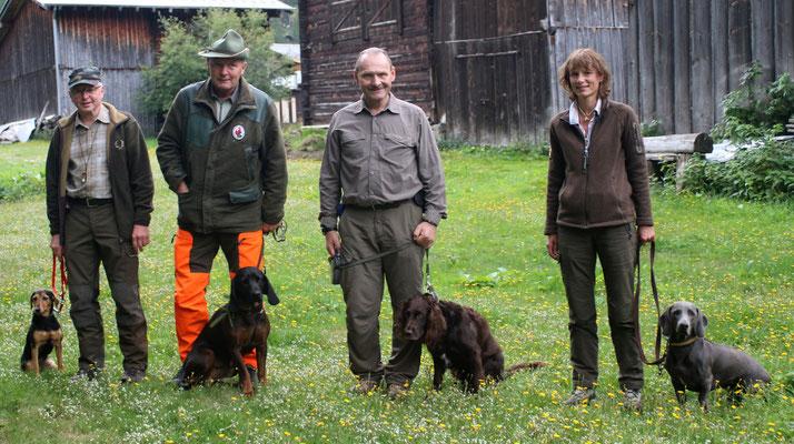 2015 - Gebirgsschweissprüfung Oberwald (Nellen Anton, Dräyer Stefan, Rieder Hanspeter, Eggimann Barbara