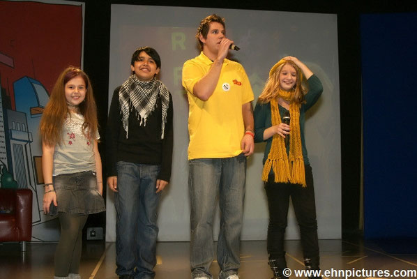Kiddy Contest Finalisten 2008 Aleks, Iris & Sophia, Minopolis Wien