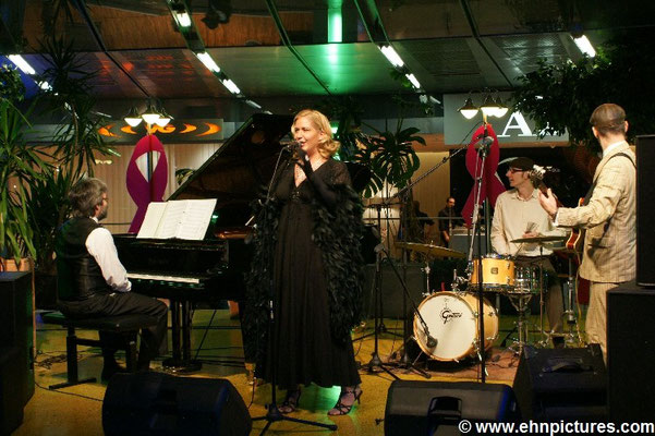The Billy Rubin Trio feat. Lady S., Echo Park Gasometer Wien
