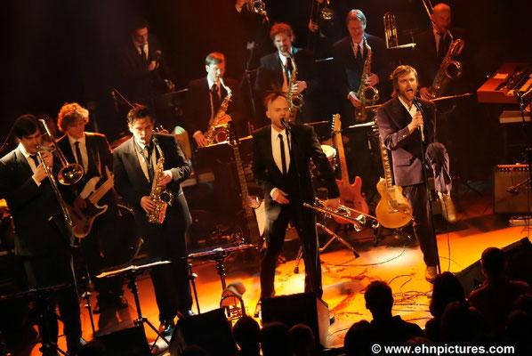 Hot Pants Road Club & Grand Funk Orchestra in der Szene Wien