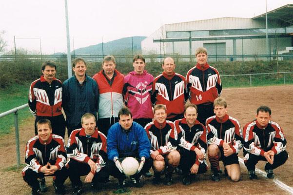 1. Mannschaft beim Auswärtsspiel in Kirnsulzbach - Trainer Thomas Bartsch