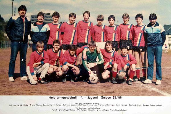 Meistermannschaft A-Jugend