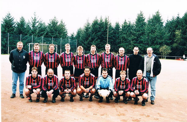 1. Mannschaft - Trainer Karsten Wellendorf