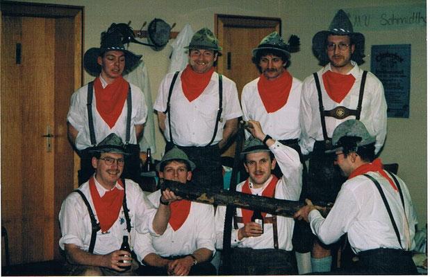 Männerballett Fasching 1994