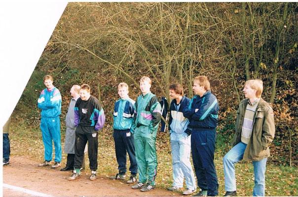 Zuschauen beim Spiel der 2. Mannschaft Oktober 1990