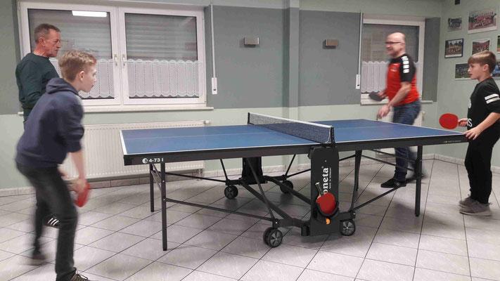 Tischtennis Doppel