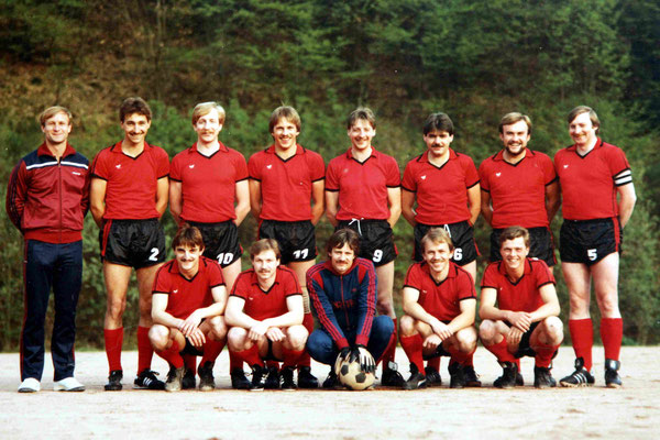 Meistermannschaft A-Klasse - Trainer Peter Dusek