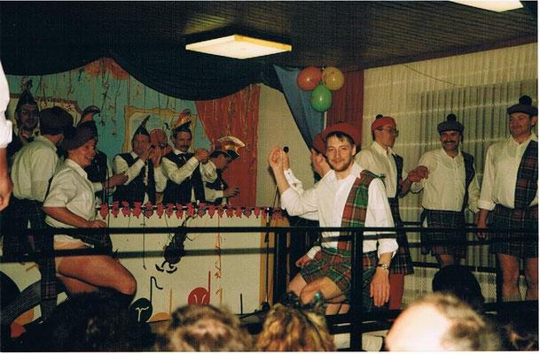 Männerballett Fasching 1993