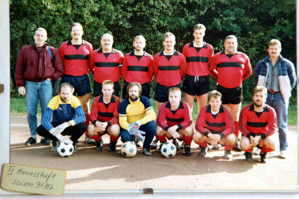 2. Mannschaft - Trainer Dieter Bremm