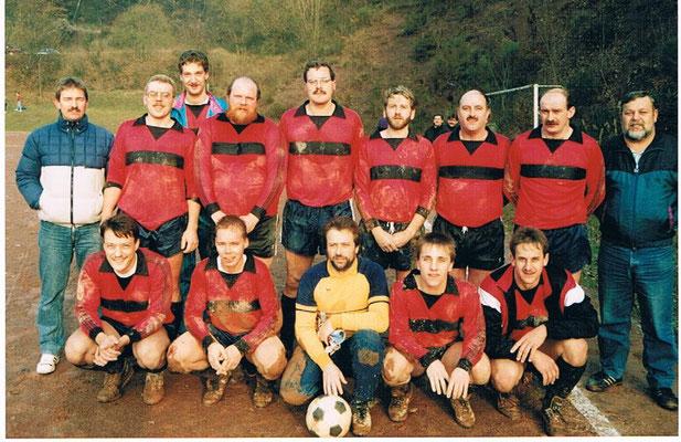 2. Mannschaft Dezember 1991 - Schlammschlacht