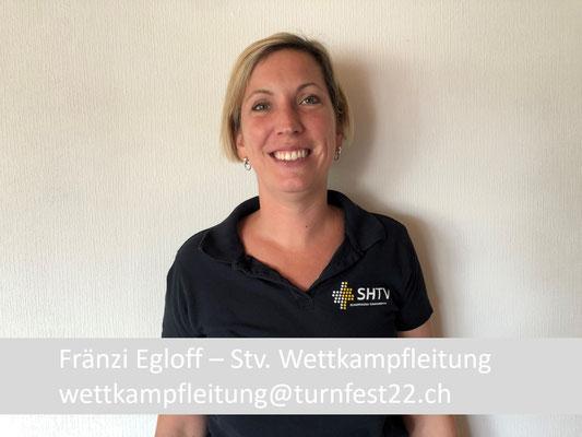 Fränzi Egloff - Stv. Wettkampfleitung