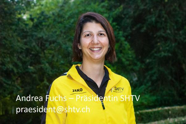 Andrea Fuchs - Präsidentin SHTV