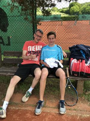 Vater und Sohn: Thomas und Lorenz Metzner