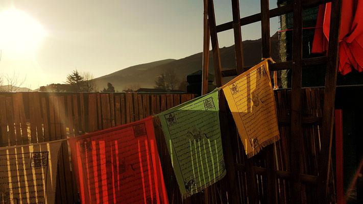 prières tibétaines © Laetitia Rousseau