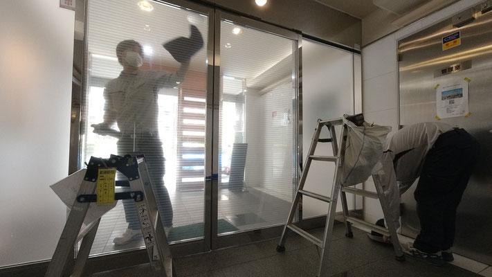 自動ドアの修理@菱和パレス高輪TOWER管理組合ブログ