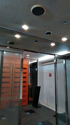 エントランス自動ドアセンサーの修理@菱和パレス高輪TOWER管理組合ブログ