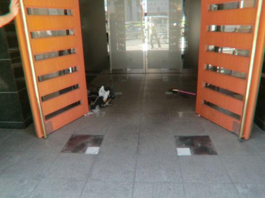 正面玄関修理@菱和パレス高輪TOWER/株式会社クレアスコミュニティー