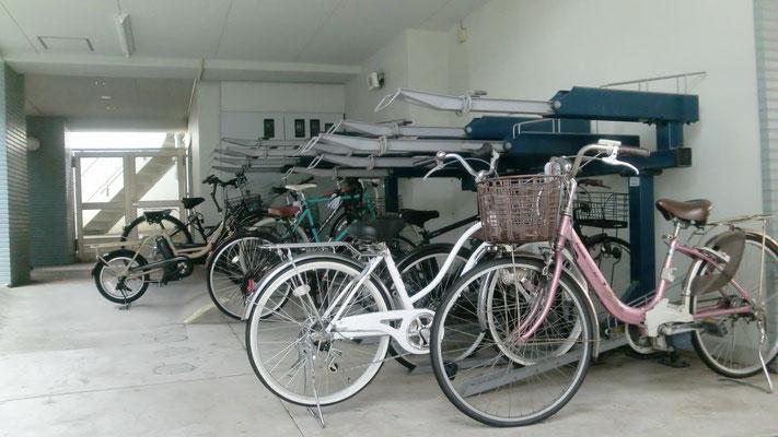 駐輪場・バイク置場@菱和パレス高輪TOWER/株式会社クレアスコミュニティー
