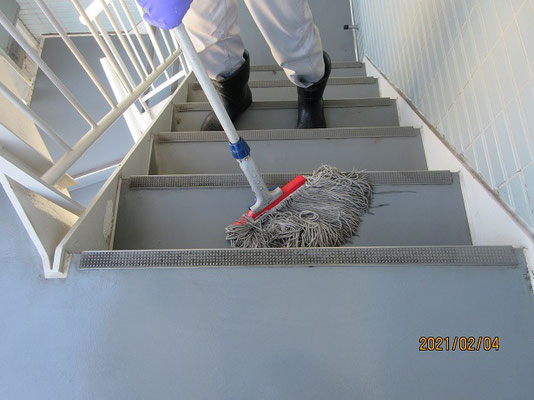 定期床面清掃2021@菱和パレス高輪TOWER管理組合ブログ