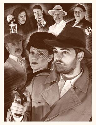 Casablanca Jones und die Tränen der Mona Lisa / Regie Magdalena Kaim Peter Gerst / Layout Hasret Sahin