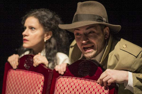 Casablanca Jones und die Tränen der Mona Lisa / Regie Magdalena Kaim Peter Gerst / Foto Gerd Sycha