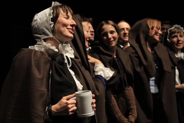 Eine Weihnachtsgeschichte / Regie Magdalena Kaim /  Foto Hasret Sahin