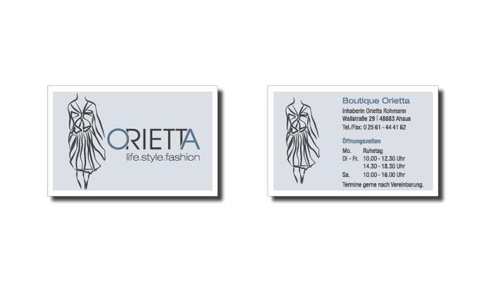 Logo, Claim, CI, Schaufensterbeschriftung, Visitenkarten