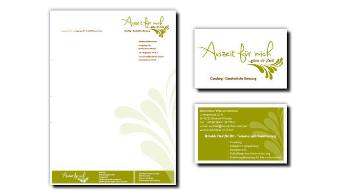 Marketingberatung, Namensfindung, Logo, Geschäftsausstattung