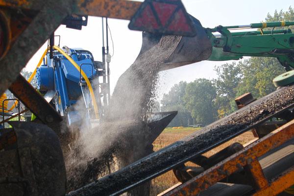 Uhling Drainage Fotos für Unternehmenspräsentation Leistungsflyer