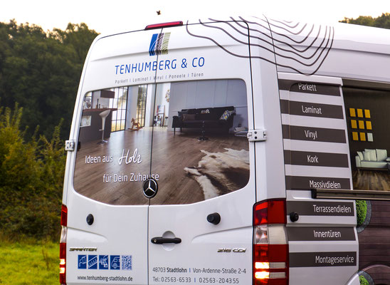 Fahrzeugbeschriftung  - Tenhumberg ind Stadtlohn und Coesfeld