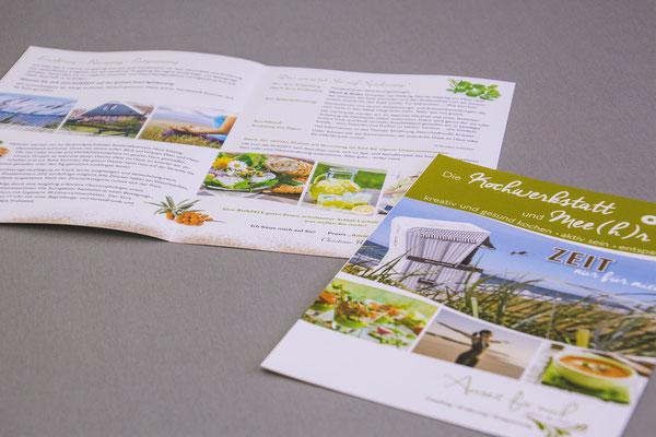 Informationsbroschüre mit Programm für Spiekeroogreise