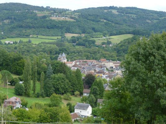 Beaulieu sur Dordogne vu des crêtes