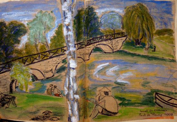 le Pont de Fleury par Frédérique